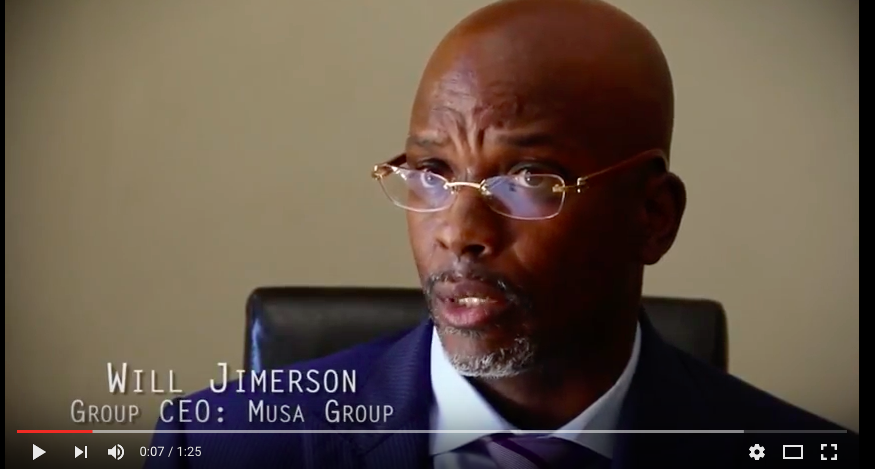 Musa Group CEO William Jimerson